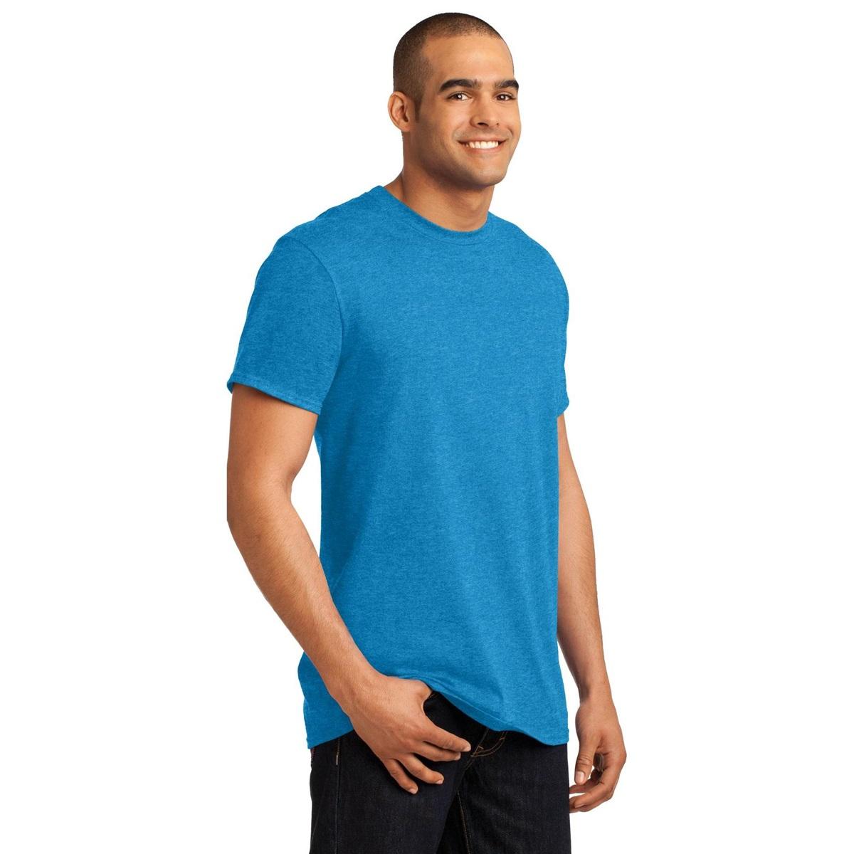 Hanes 4200 X-Temp T-Shirt - Neon Blue Heather | FullSource.com