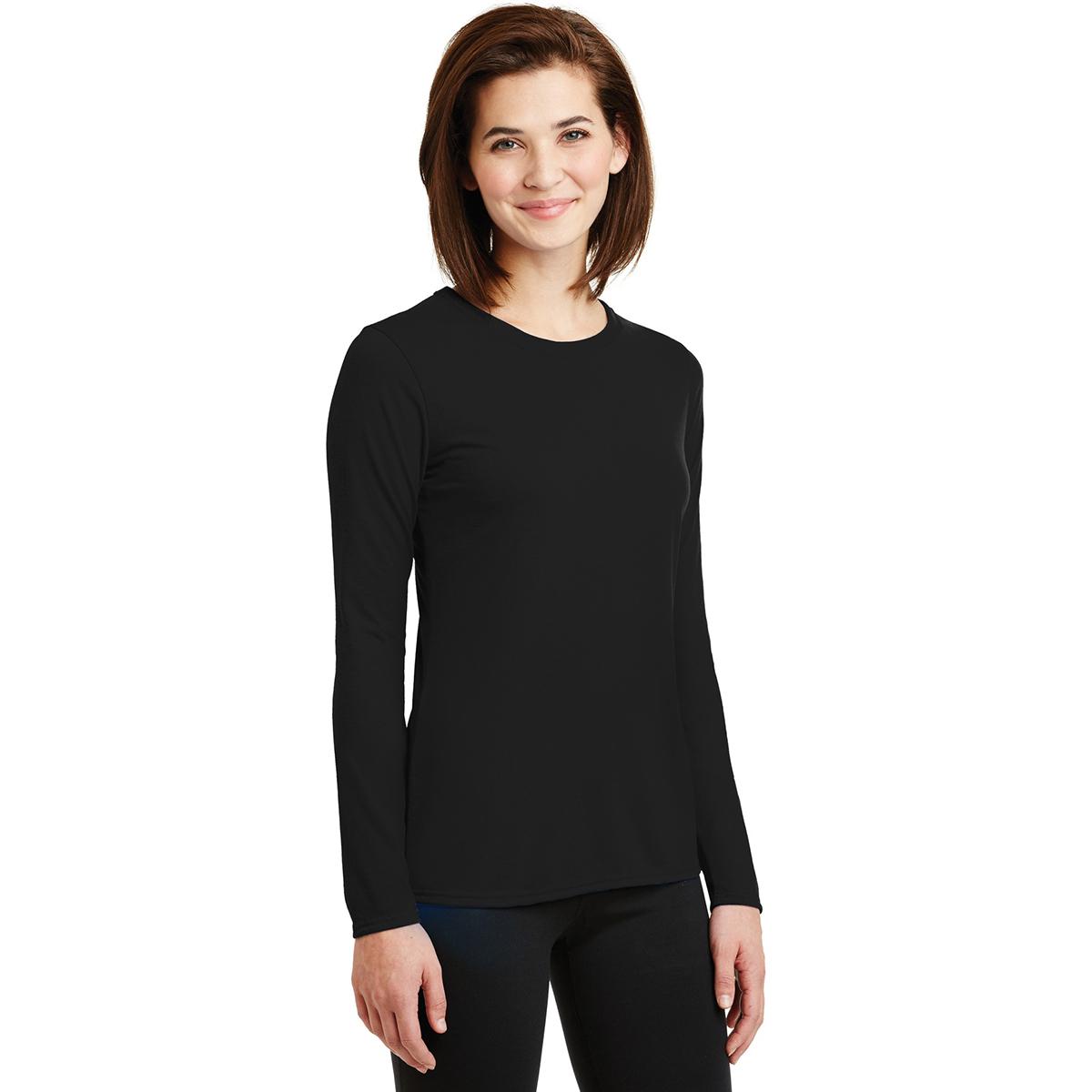 Gildan 42400l Ladies Performance Long Sleeve T Shirt