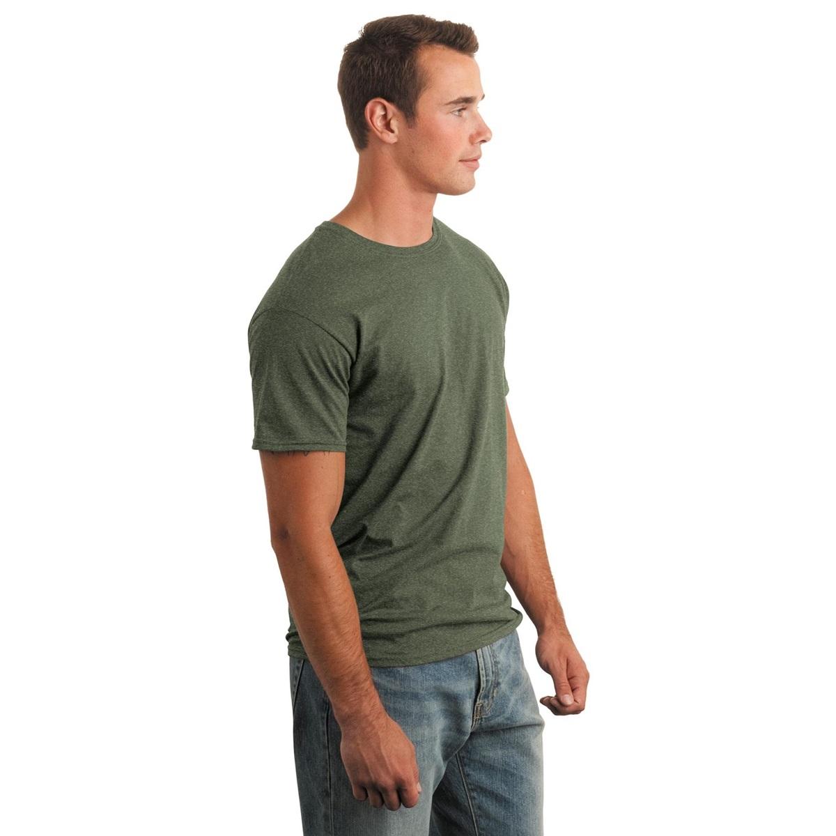 Gildan 64000 Softstyle T Shirt Heather Military Green