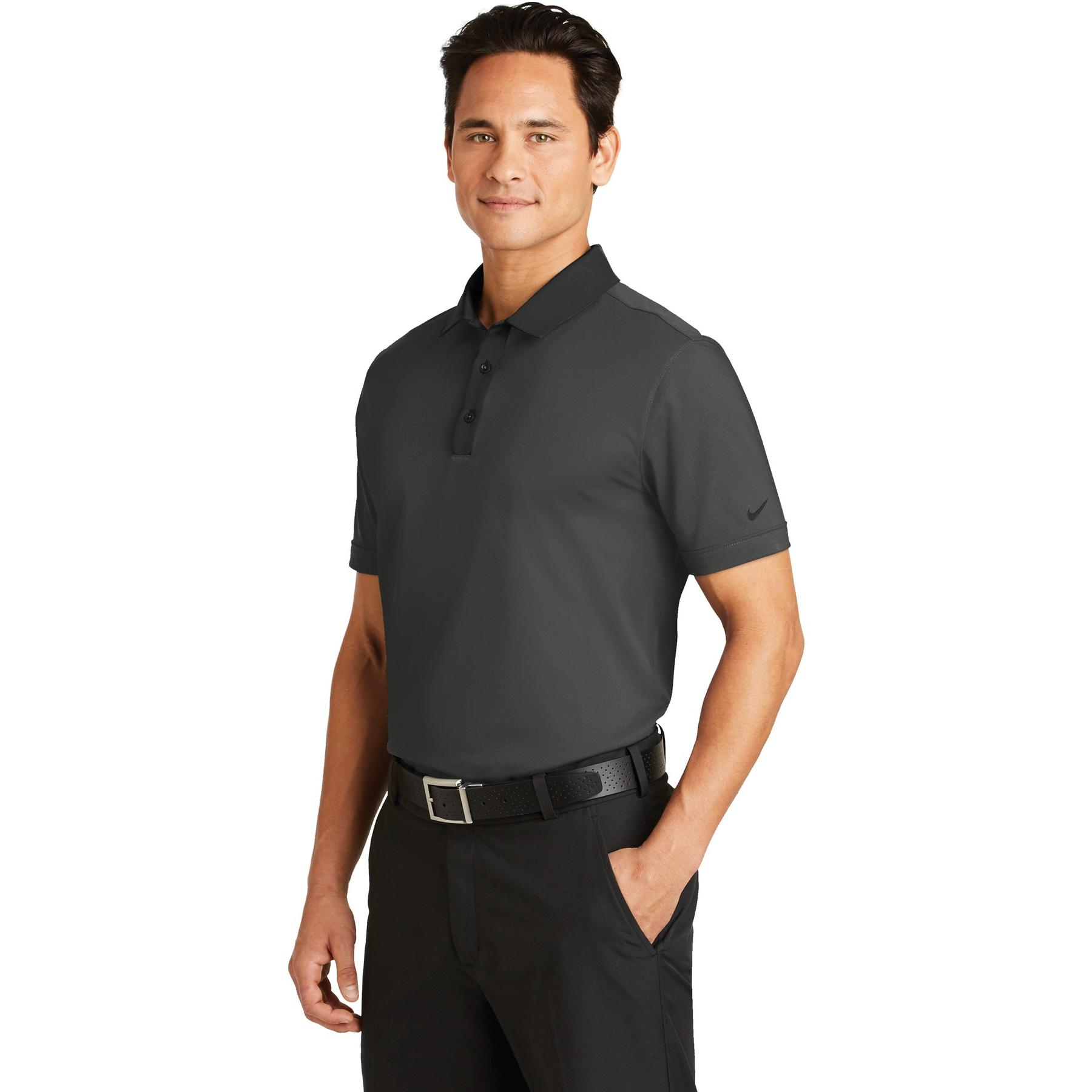 Nike golf 779798 dri fit heather pique modern fit polo Modern fit golf shirt