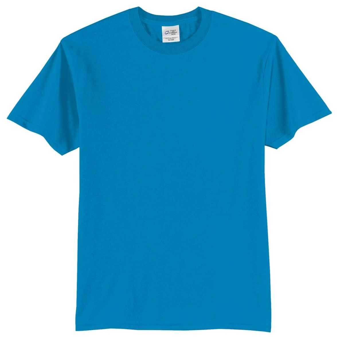 Port Company Pc55 50 50 Cotton Poly T Shirt Sapphire