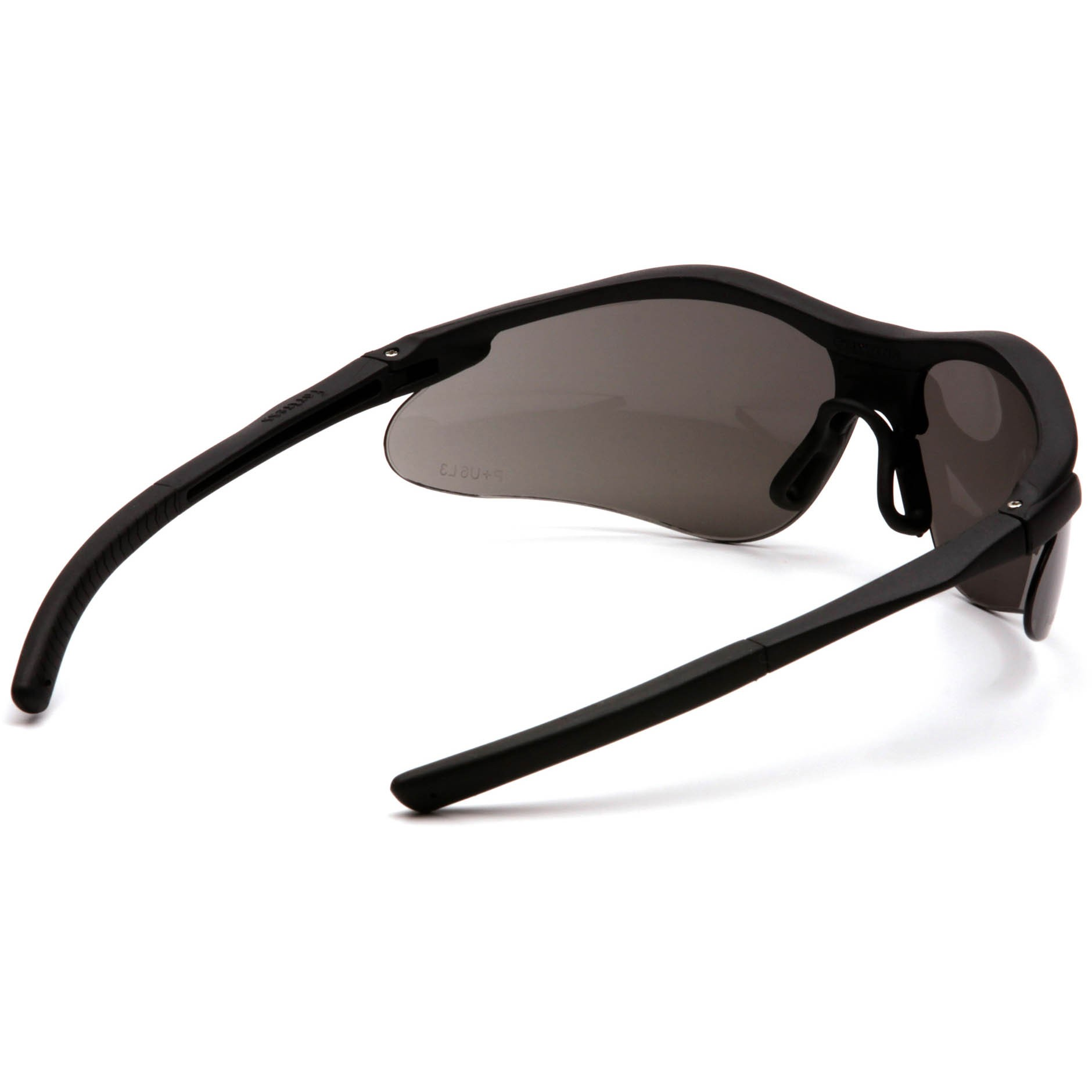 Pyramex Fortress Safety Glasses - Black Frame - Gray Lens ...