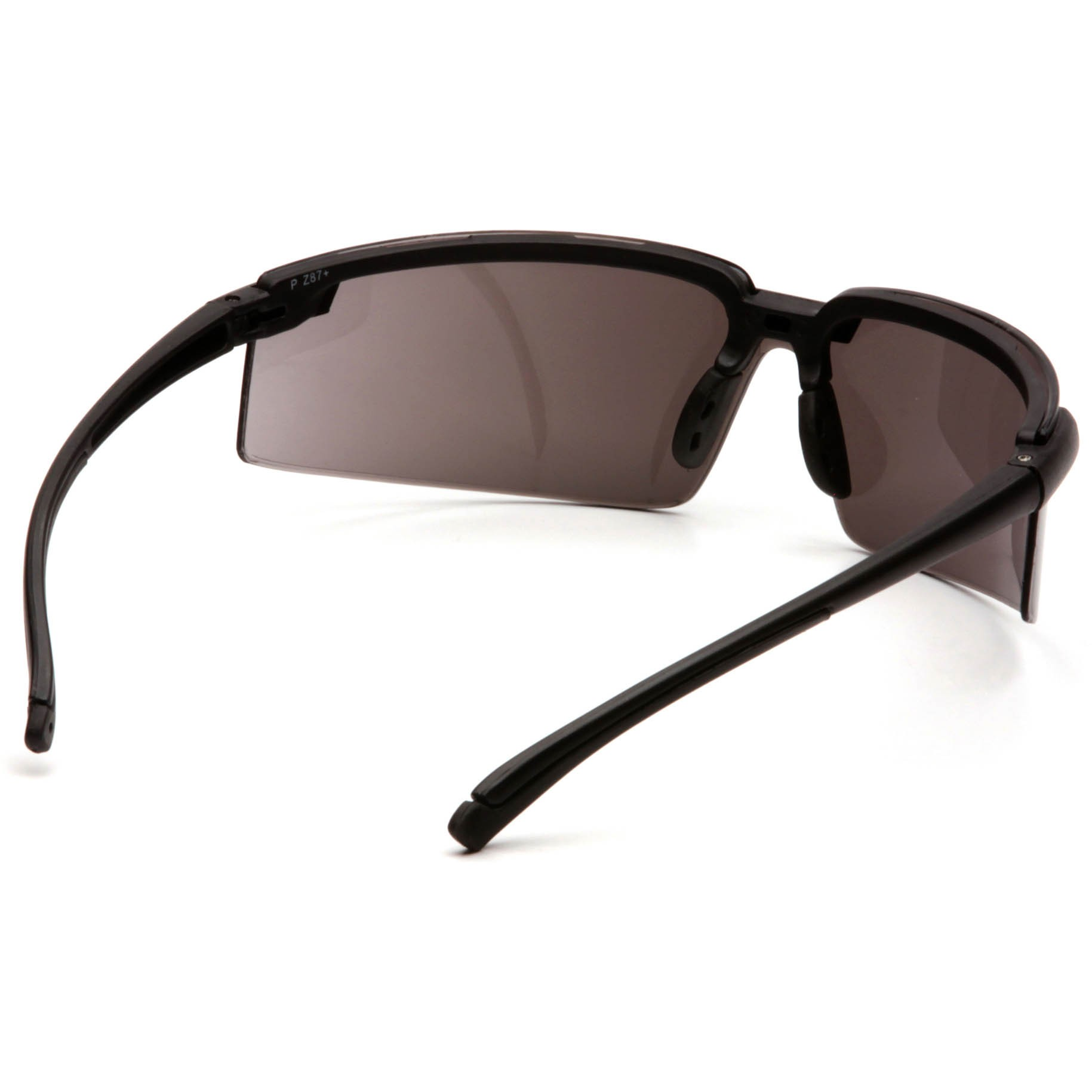 Safety Glasses Black Frame : Pyramex Surveyor Safety Glasses - Black Frame - Silver ...