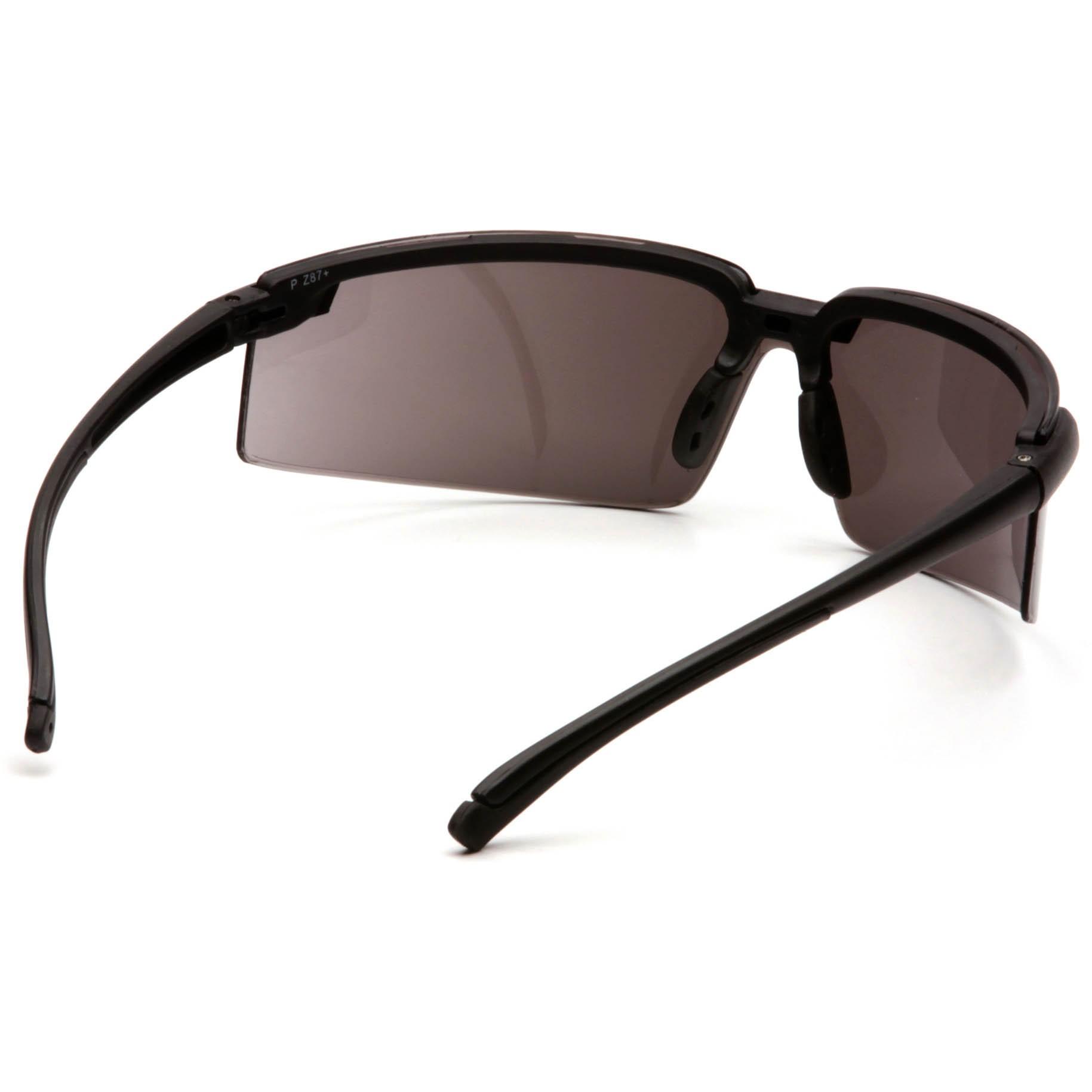 Safety Glasses Black Frame : Pyramex Surveyor Safety Glasses - Black Frame - Silver ...