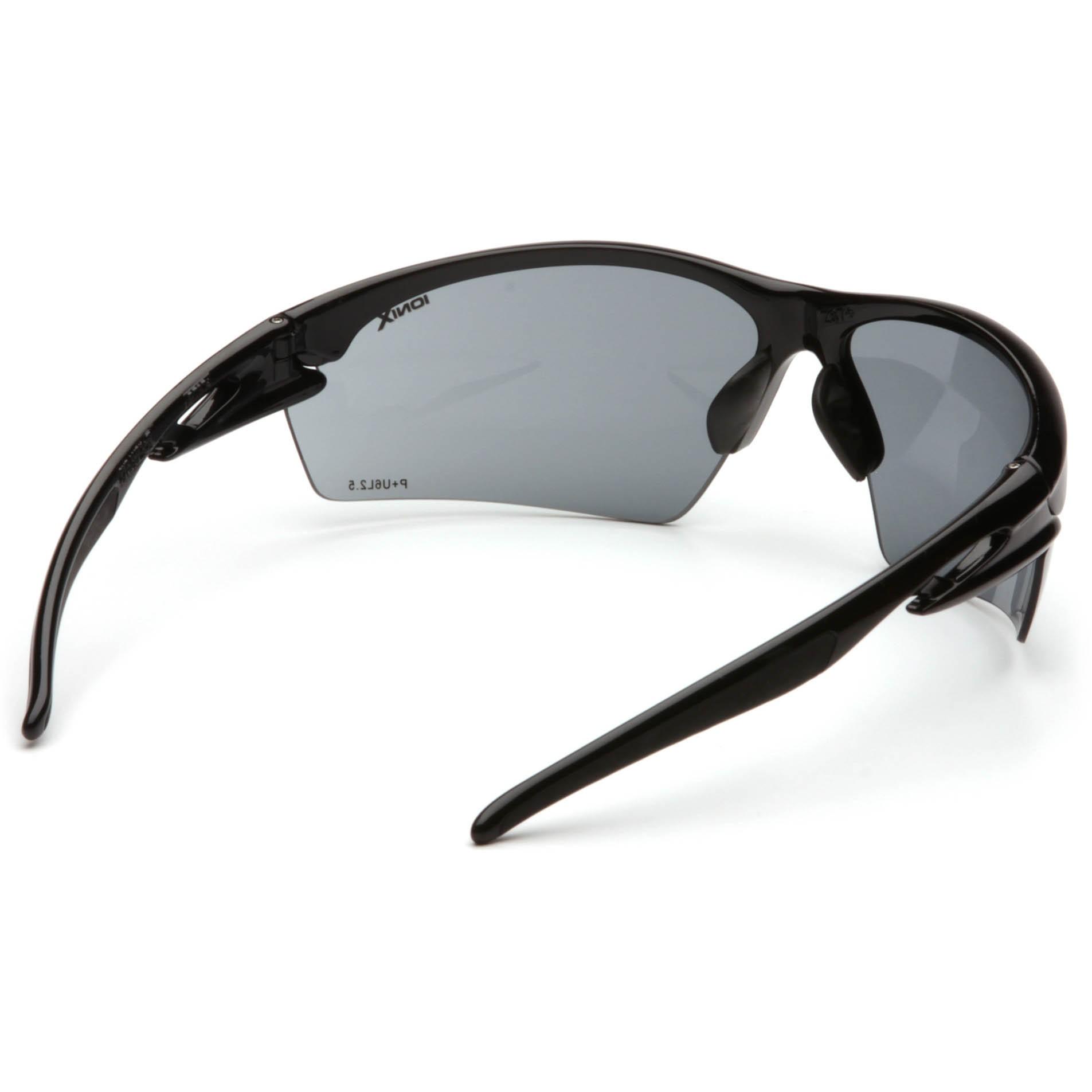 Glasses Gray Frame : Pyramex Ionix Safety Glasses - Black Frame - Gray Lens ...