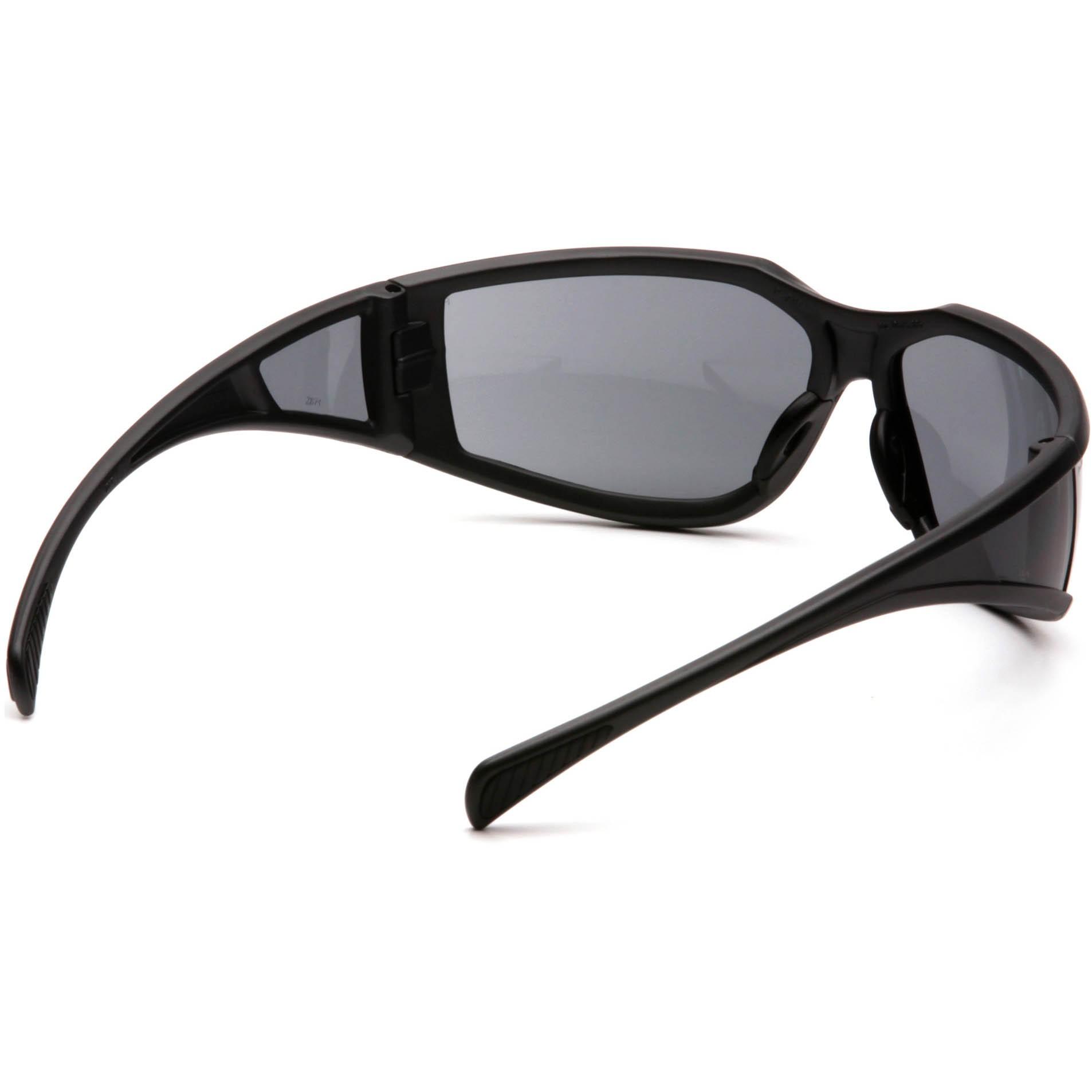 Glasses Gray Frame : Pyramex Exeter Safety Glasses - Gray Frame - Gray Anti-Fog ...