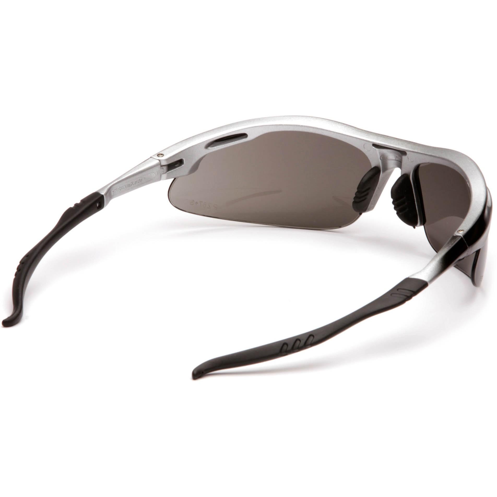 Glasses Gray Frame : Pyramex Avante Safety Glasses - Silver Frame - Gray Lens ...