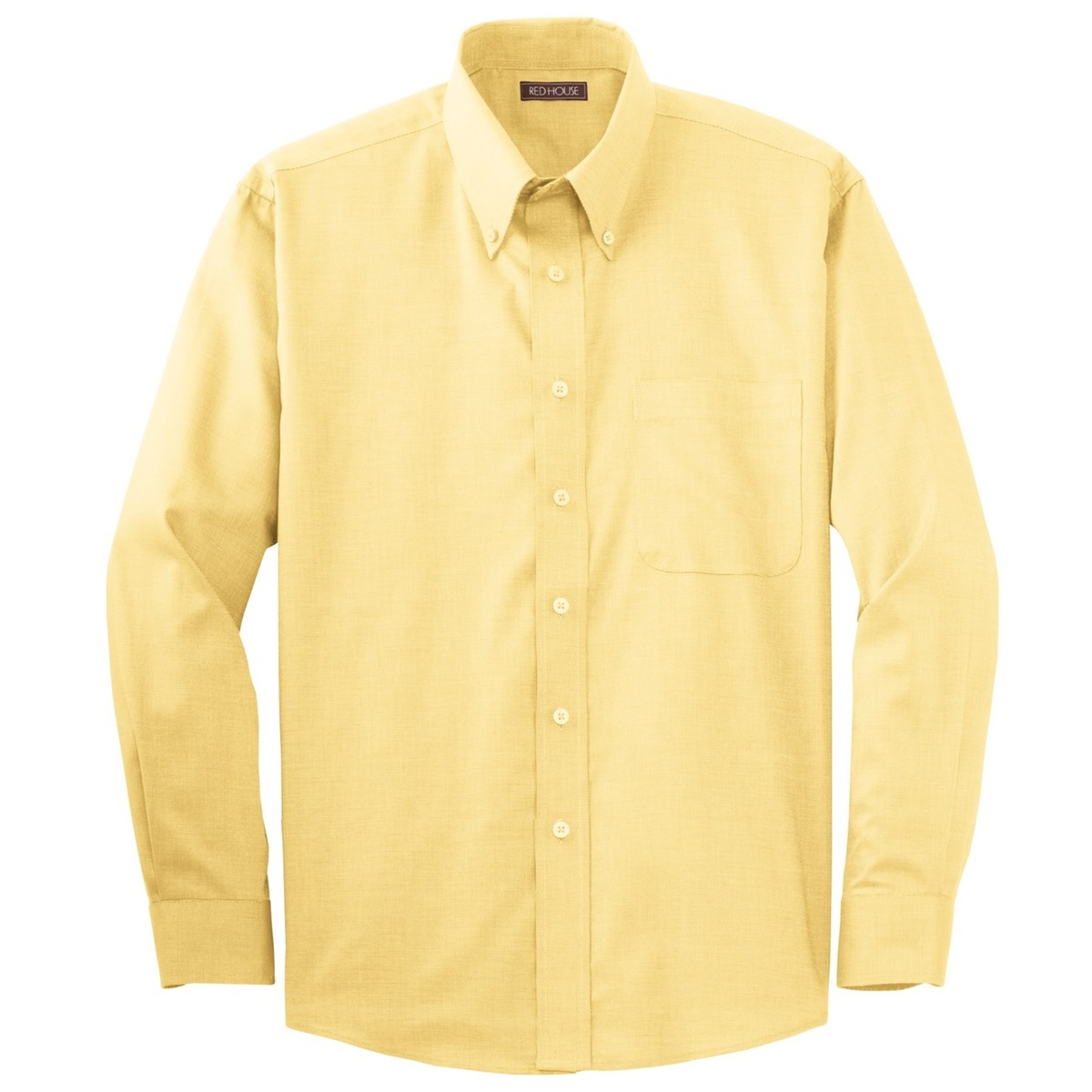 Red House RH37 Nailhead Non-Iron Button-Down Shirt - Yellow ...