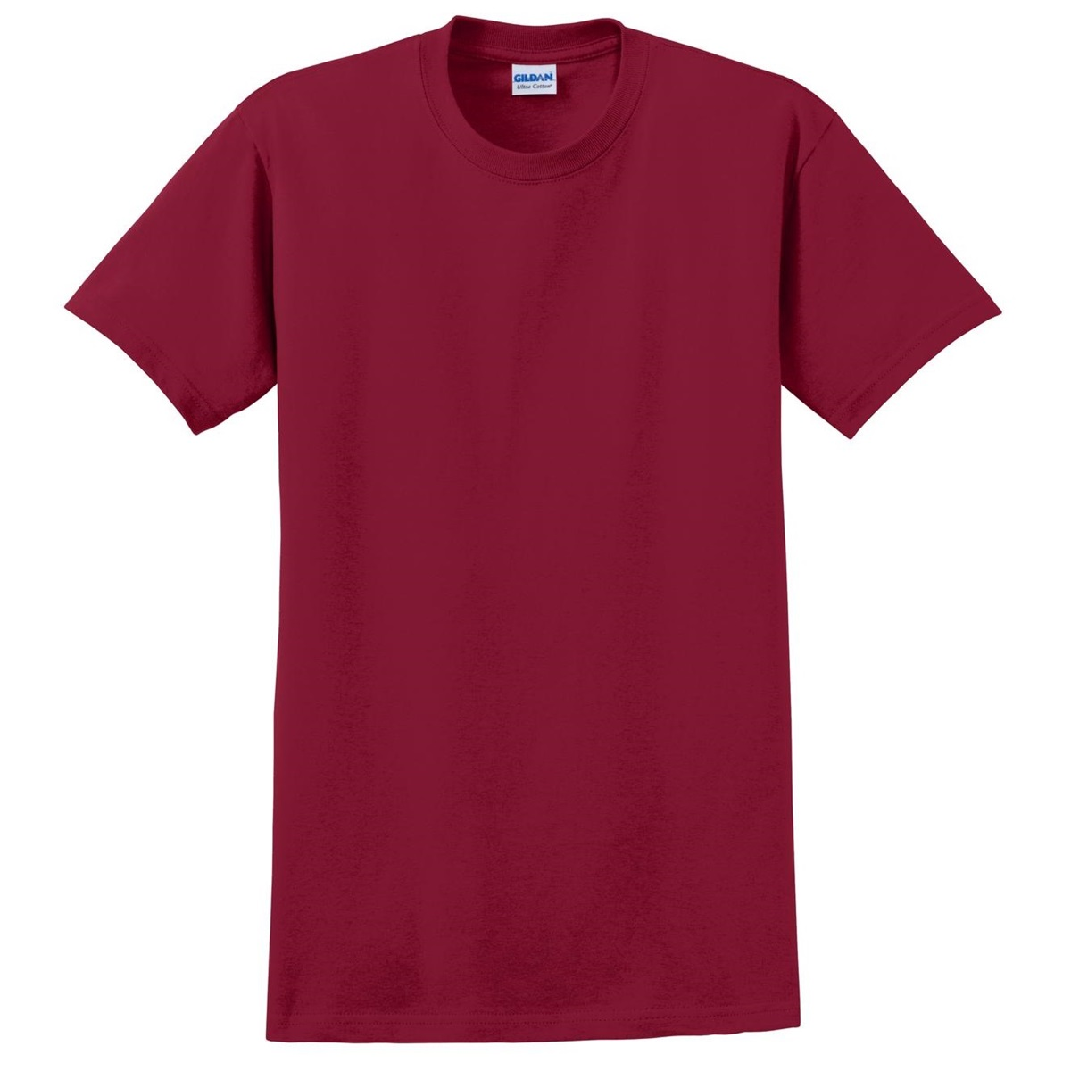 Gildan 2000 ultra cotton t shirt cardinal red for Cardinal color t shirts