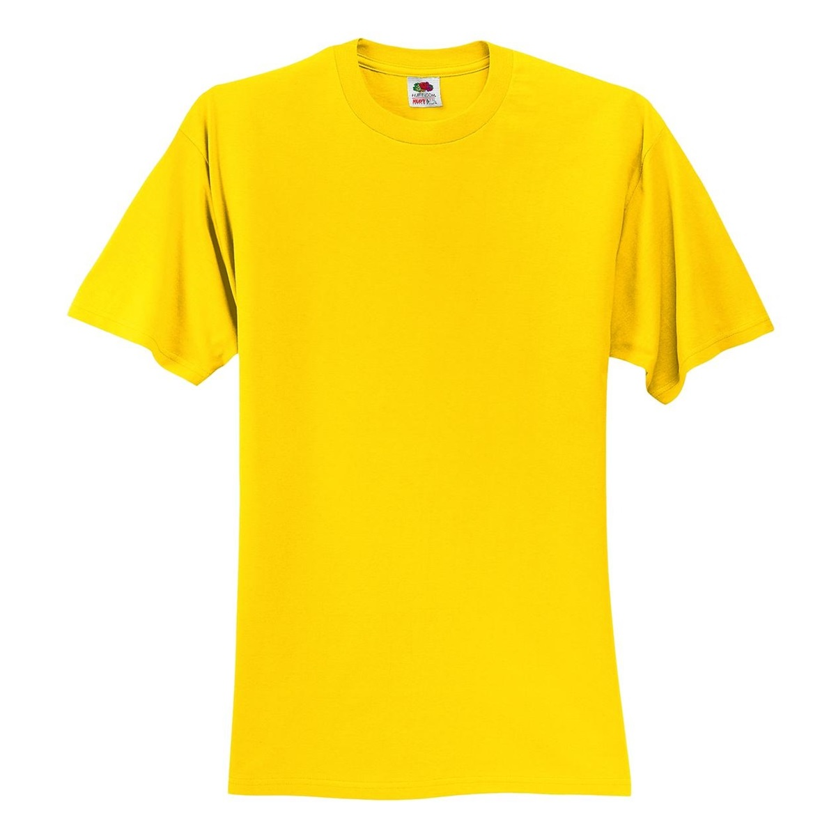 Fruit Of The Loom 3930 Heavy Cotton Hd T Shirt Yellow