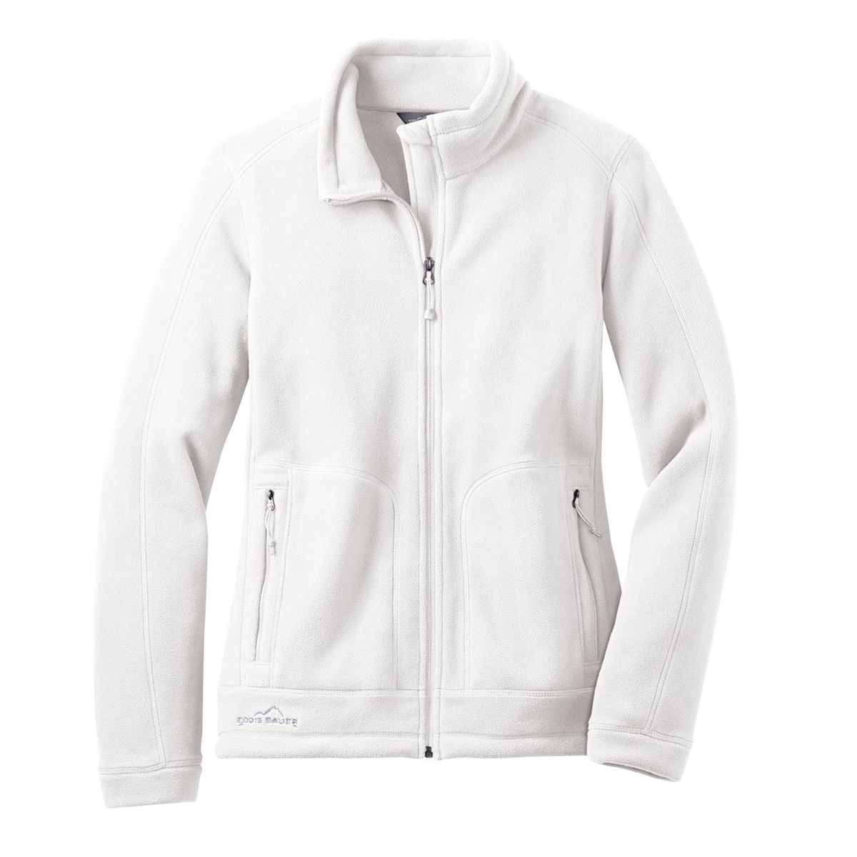 Eddie Bauer EB231 Ladies Wind Resistant Full-Zip Fleece Jacket ...