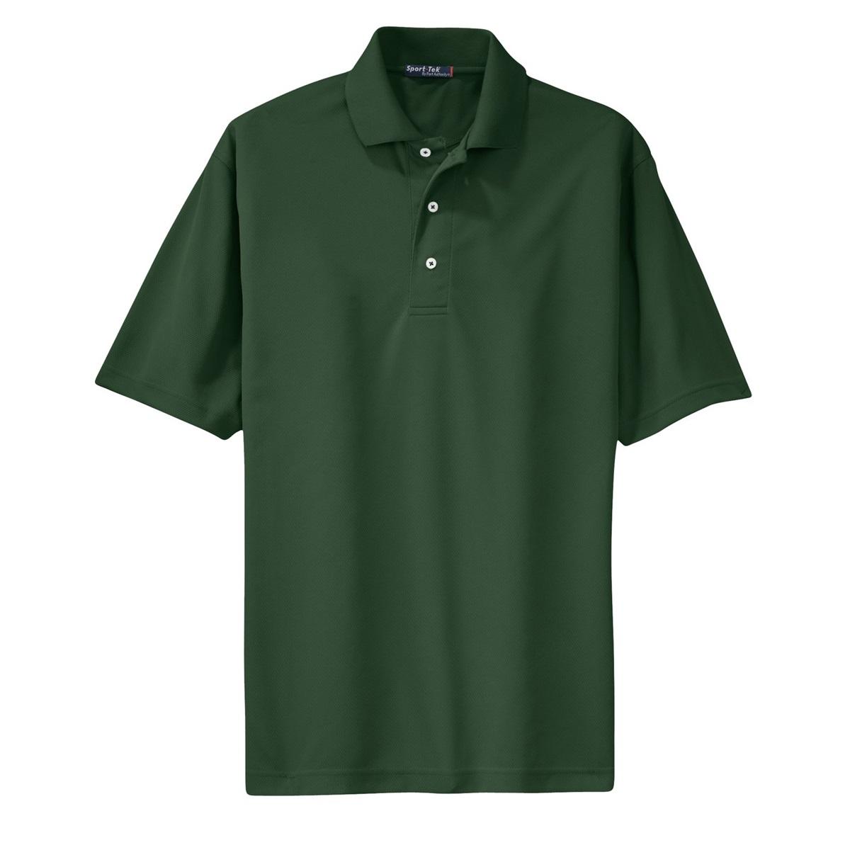sport tek k469 dri mesh polo shirt forest green