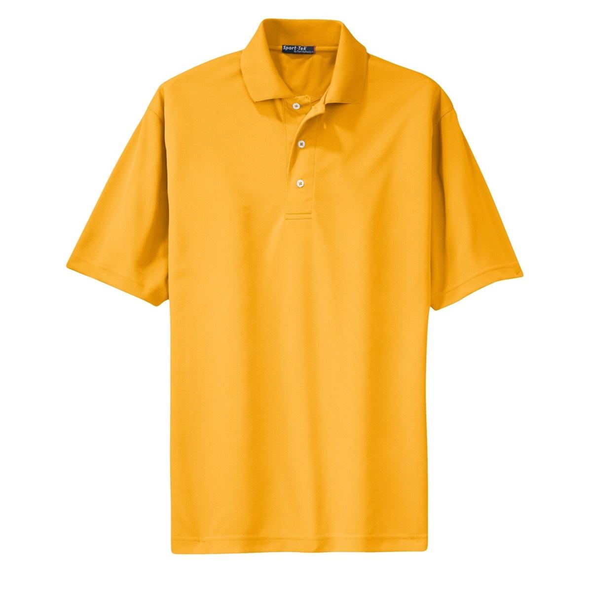 Sport Tek K469 Dri Mesh Polo Shirt Gold