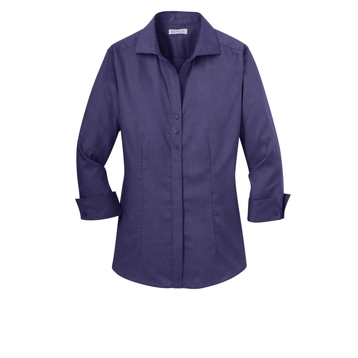 Dark purple button down shirt is shirt for Non see through white dress shirt