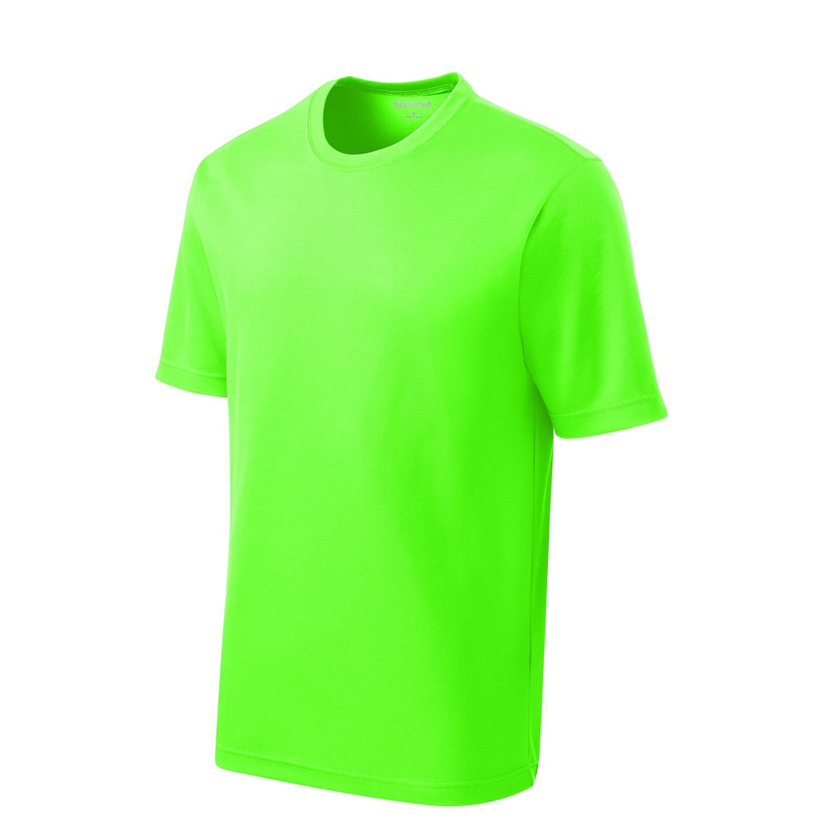 Sport tek yst340 youth posicharge racermesh tee neon for Bulk neon t shirts