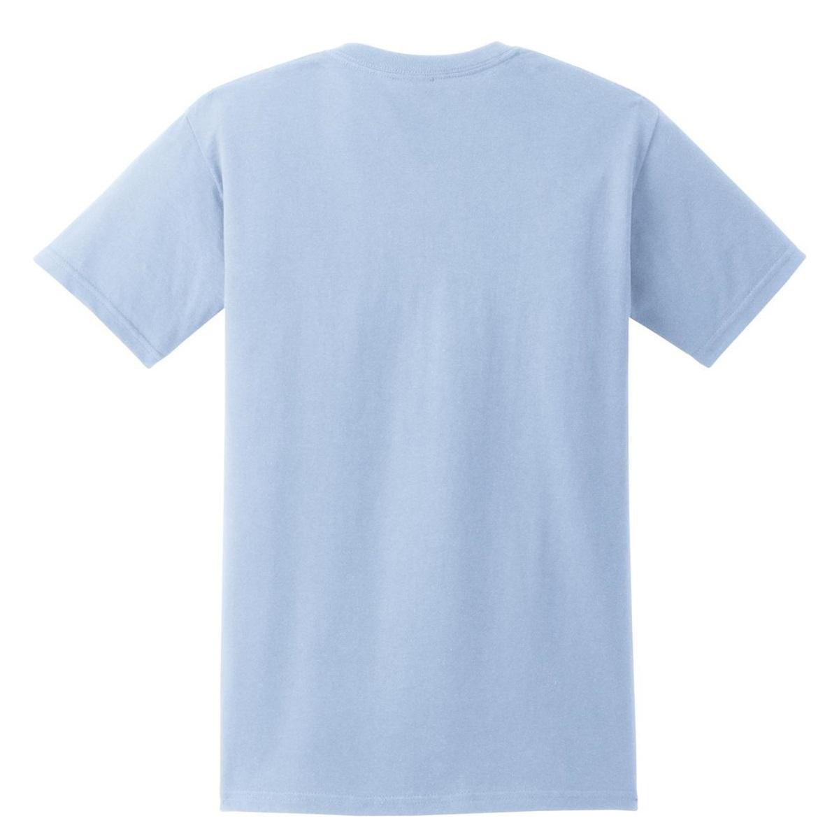 Gildan 2300 Ultra Cotton T-Shirt with Pocket - Light Blue ...