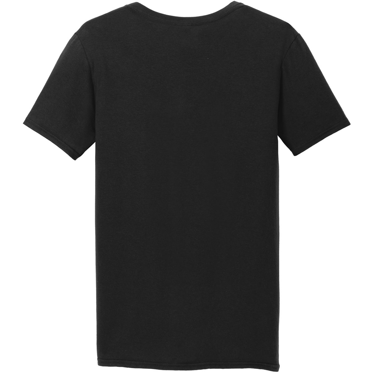 Gildan 64v00 softstyle v neck t shirt black for Gildan brand t shirt size chart