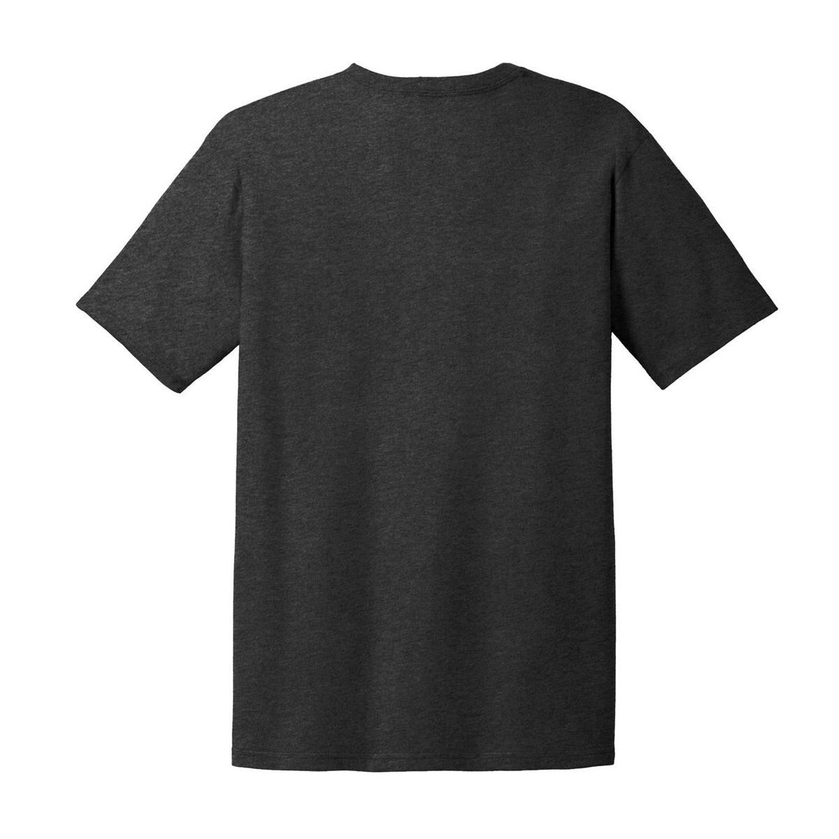 Anvil 980 Ring Spun Cotton T Shirt Heather Dark Grey