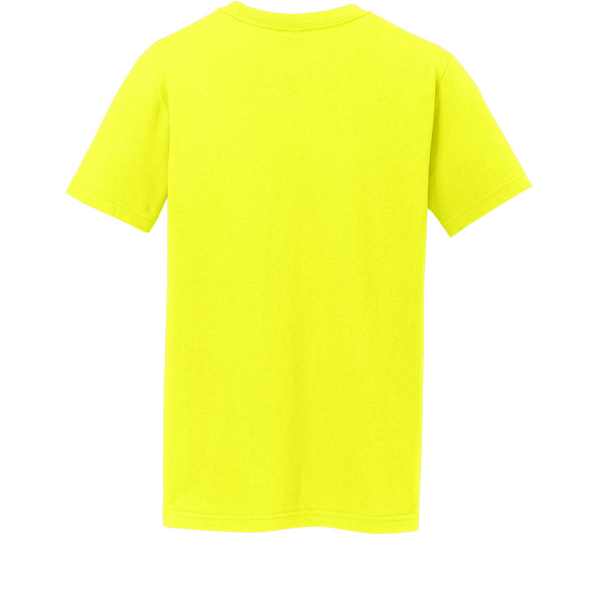 District dt5000y youth concert tee neon yellow for Bulk neon t shirts