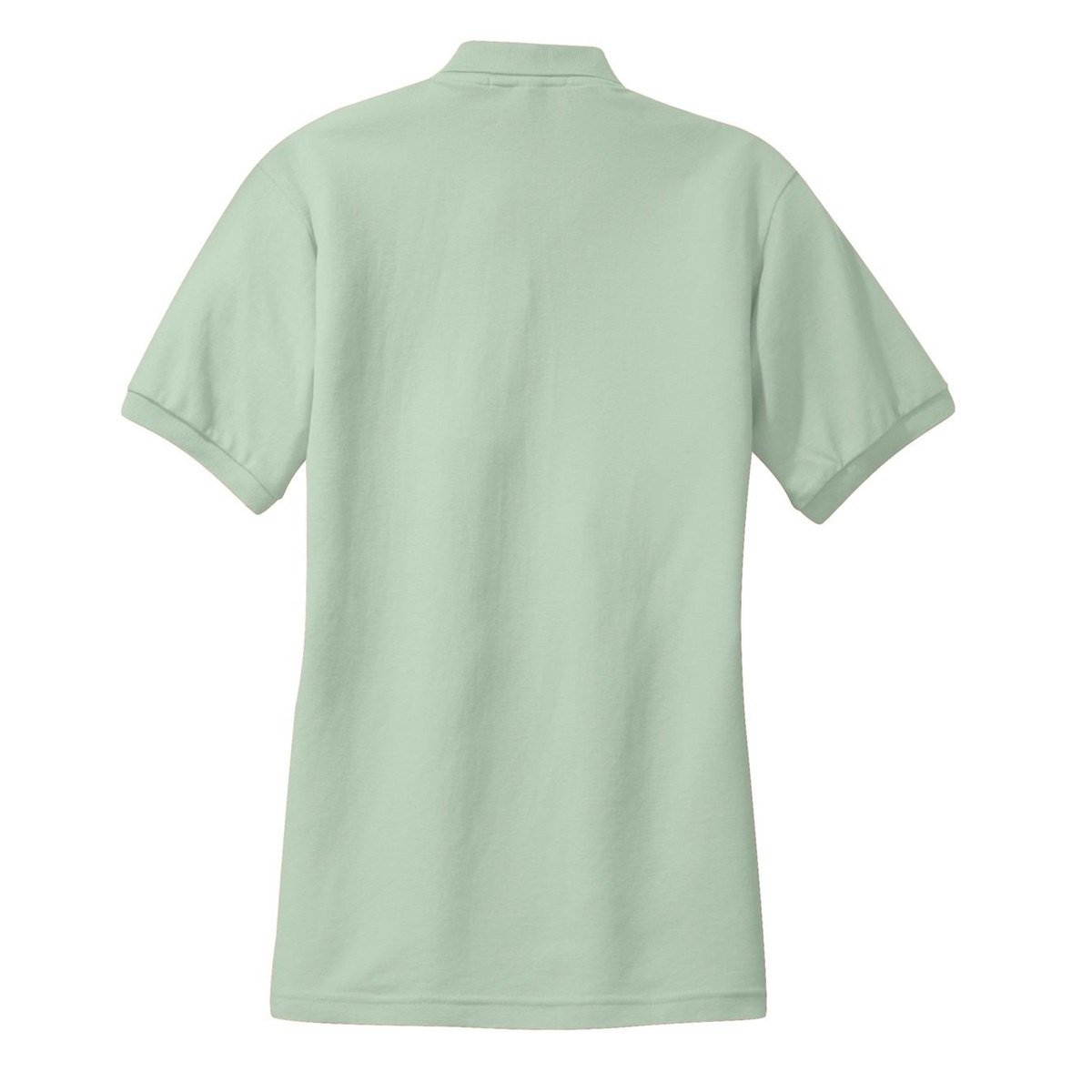 Port authority l500 ladies silk touch polo mint green for Mint color polo shirt