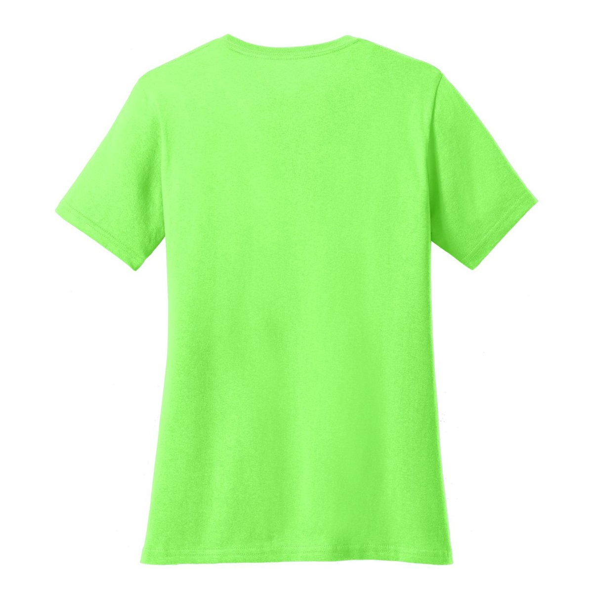 Port Company Lpc54 Ladies 5 4 Oz Cotton T Shirt Neon