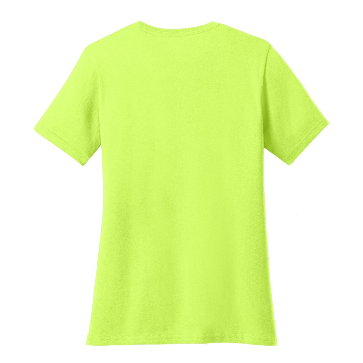 Port company lpc54 ladies 5 4 oz cotton t shirt neon for Bulk neon t shirts