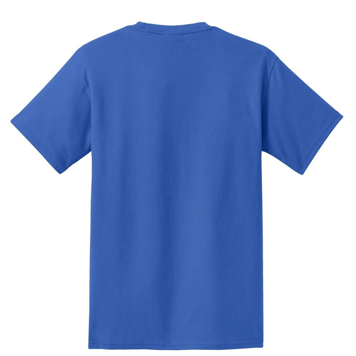 Port Company Pc61p Essential T Shirt With Pocket Royal
