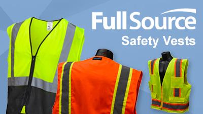 Full Source High Viz Safety Vests